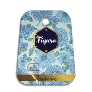 Etiqueta de cartón para accesorios de joyeria